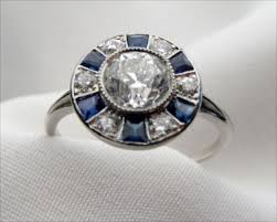 art wedding rings images Art deco engagement rings archives jpg