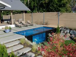 Biggest Backyard Pool by Modpools Create Backyard Pools Using Shipping Containers