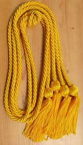 graduation cord gold graduation honor cords