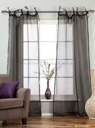 Tie Top Curtain Panels 35 Best Home Décor Window Treatments Images On Pinterest