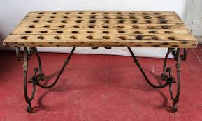 antique riddling rack wine tasting table at 1stdibs