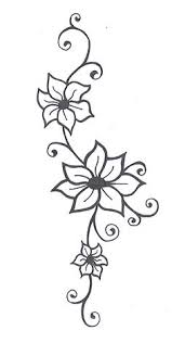 simple flower drawing credits to original artist flowers