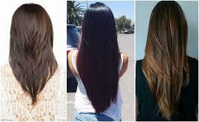 v cut layered hair 9 best haircuts for thin fine hair makeupandbeauty com