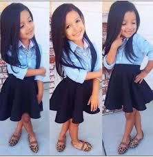 autumn kids girls clothing set blue t shirt dress 2 pcs baby