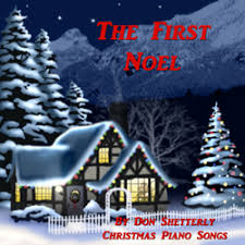 the first noel christmas piano songs