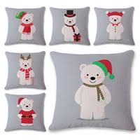Factory Direct Home Decor Cheap Pillow Cushion Cover Buy by Wholesale Polar Bear Pillow Buy Cheap Polar Bear Pillow From