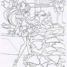 flora coloring pages 11 toy dolls printables girls