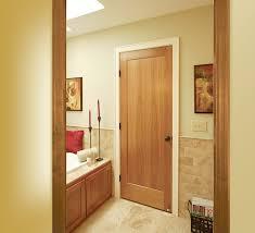 Single Panel Interior Door Single Flat Panel Interior Doors Is A Stylish Inexpensive Choice