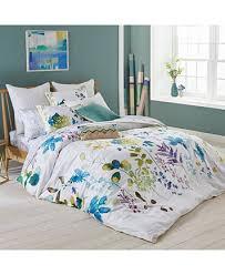 bluebellgray botanical garden cotton 3 pc full queen duvet cover