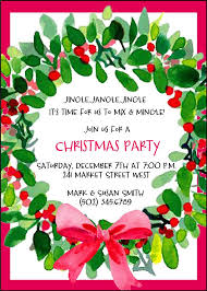 christmas party invitations christmas party invitations in support