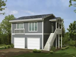 Garage With Bedroom Above Two Story Garage Apartment Car Above Plans House Plans 68850