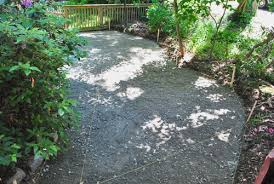 Loose Gravel Patio How To Lay A Paver Patio Gravel Sand And Stones Young House Love