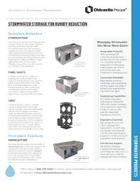 stormcapture system oldcastle precast