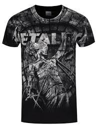 metallica official band merch buy at grindstore uk