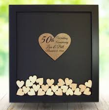anniversary guest book 50th wedding anniversary gift ideas beautiful 50th anniversary t