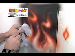 how to use richard markham fire stencil sold by ultima air