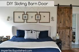 Bedroom Barn Doors Diy Barn Door
