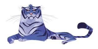 daily cat drawings u2014 227 blue tiger lions u0026 tigers pinterest