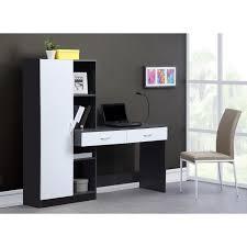 bureau cdiscount bureau optim avec étagères intégrées 147 5 x 160 cm comparer