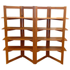 Free Bookshelves Home Design Danish Modern Teak Freestanding Room Divider