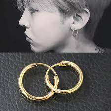 hoop earrings for men es929 geometric hoop earrings for women men brincos fashion