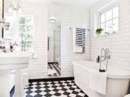 Black And White Bathrooms Ideas 28 White Bathroom Tile Ideas Bathroom Designs Black And