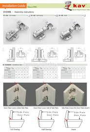full overlay cabinet hinges stable quality 3d adjustable hinge soft closing cabinet hinge buy