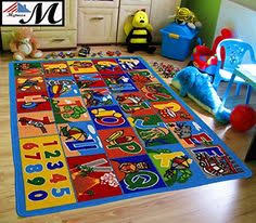 Learning Rugs Fadfay Home Textile Fashion Hopscotch Kids Carpet Bedroom Sweet