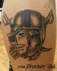 mask and skull logo oakland raiders tattoo golfian com