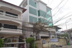 floors for rent 5 floors building for rent in bkk1 cambodia property