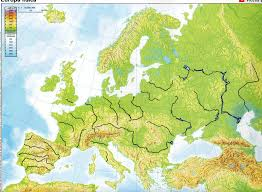 europe phisical map geography of europe map major tourist attractions maps