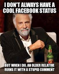 Stupid Internet Memes - i don t always i don t always have a cool facebook status but when