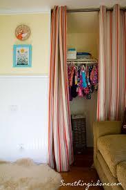 Closet Curtain Curtains For A Closet Door