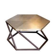Brass Coffee Table Exagono Brass Coffee Table Shop Chiara Castelli At Artemest