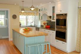 yellow and blue kitchens top how to choose kitchen colors with a