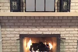 Cleaning Bricks On Fireplace by Safety Tip Open Fireplace Doors When Burning A Fire