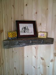 Barnwood Wall Shelves Barn Wood Shelves Rustic Barn Wood Corner Shelf By