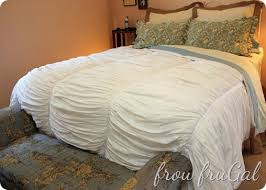 Pottery Barn Comforters Master Bedroom Makeover U2013pottery Barn Knock Off Quilt Frou Frugal