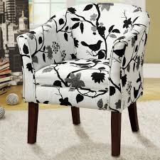 coaster furniture 902131 upholstered floral accent chair inside