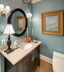 sumptuous countertop water dispenser in powder room traditional