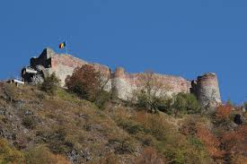 Vlad The Impalers Castle by File Poenari 02 Jpg Wikimedia Commons