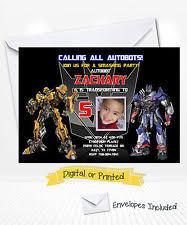 transformers birthday child greeting cards ebay