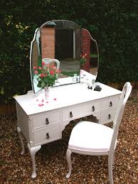 Shabby Chic Vanity Table Blues And Hues Bespoke Furniture Painting Surrey