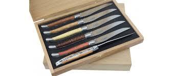 couteaux steak laguiole coffret 8 couteaux laguiole de table color laguiole arbalète