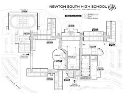 campus map newton south ptso