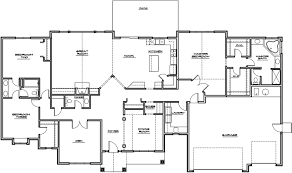 2 Bedroom Ranch Floor Plans by Rambler House Plans Home Design Ideas