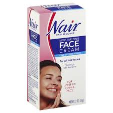 nair cream moisturizing face cream hair remover 2 oz
