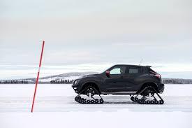 nissan altima in snow arctic tracks juke nismo rsnow