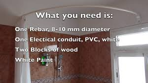 Ceiling Curtain Rods Ideas Ceiling Shower Rod Shower Authority Bendable Curtain Rod Floor To