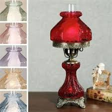 hurricane lamps parlor lamps globe lamps touch of class